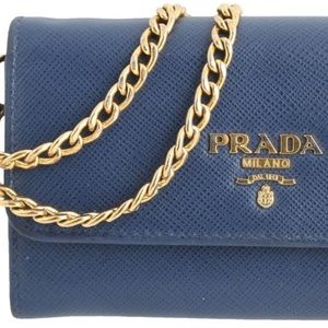 Prada Saffiano Mini Wallet